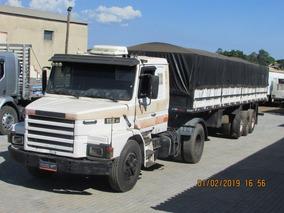 Scania 112h 320 Carreta Graneleira C/ Pneus