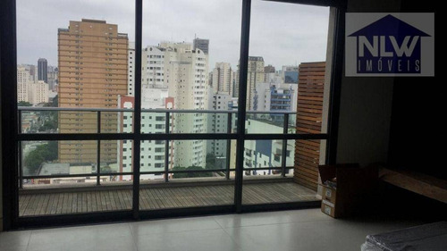 Imagem 1 de 20 de Cobertura Com 1 Dormitório À Venda, 69 M² Por R$ 1.400.000,00 - Itaim Bibi - São Paulo/sp - Co0048