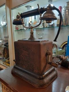 Antiguo Telefono Interno Ferroviario Magneto Ericsson