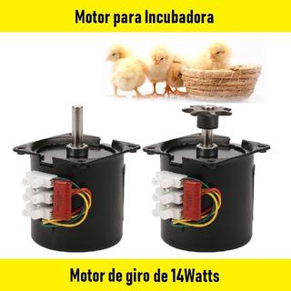 Motor 220v 14w, 2.5rpm/min Incubadora