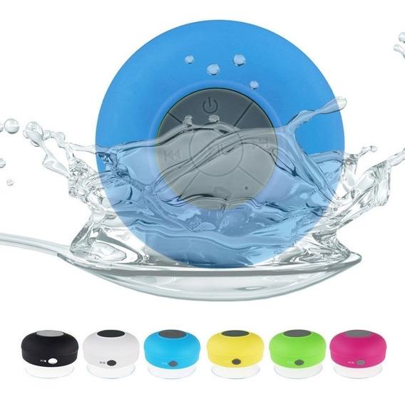 Mini Caixa Som Prenda Na Mesa No Espelho Resistente Água