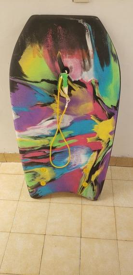 Tabla Tipo Surf Con Funda Tipo Mochila Kawasaki
