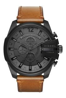 Diesel Reloj Análogo Para Hombre, Color Gris/marrón Dz4463