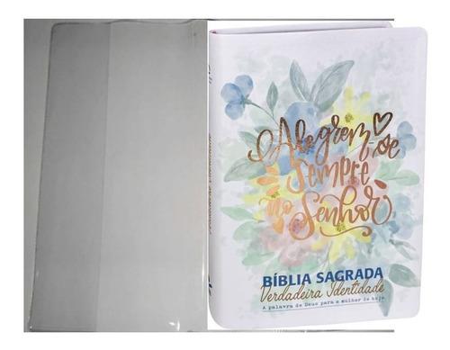 Bíblia S Verdadeira Identidade Naa C C Plástica Transparente