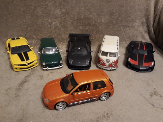 Carros Escala 1/24 Maisto /jada Toys .. 6 Veículos.