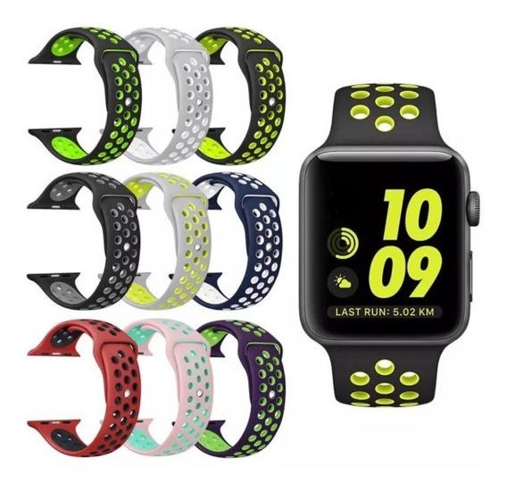 Pulseira Sport Apple Watch 38mm 40mm 42mm 44mm Series