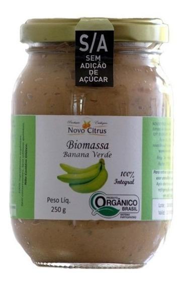 Biomassa Banana Verde Organico Sem Acucar - Novo Citrus