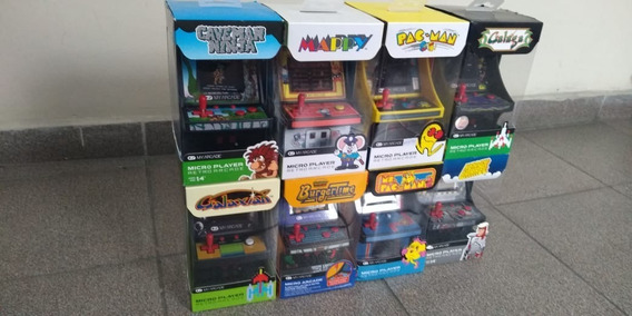 Mini Arcade Video Game Pac Man Micro Player Retro Fliperama
