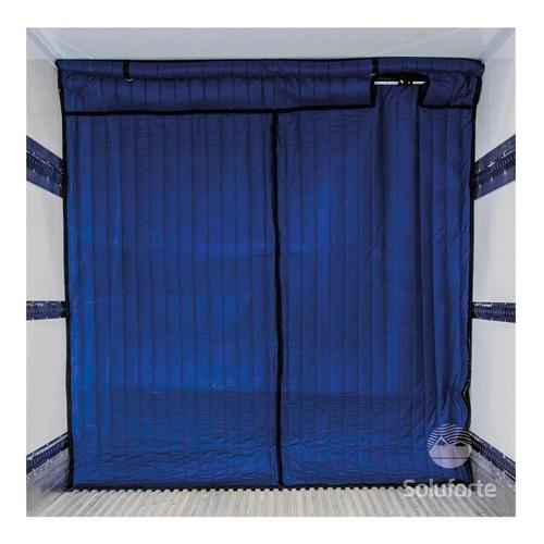 Divisória Térmica Bau Frigorífico Cortina Com Kit Ventilação