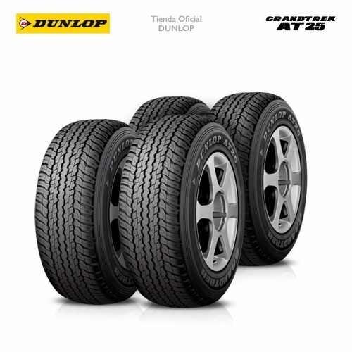 Kit X4 265/65 R17 Dunlop Grandtrek At25 + Tienda Oficial