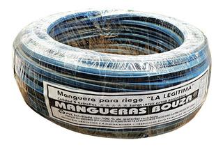 Manguera Rollo Riego 1/2 X 25 Metros Pvc Reforzada