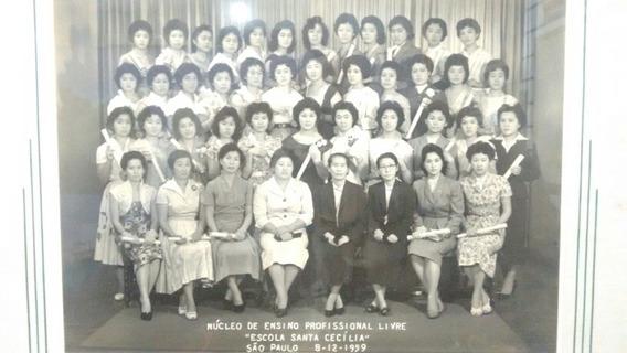 Fotografia Japonesa De 1959. Escola Santa Cecília .