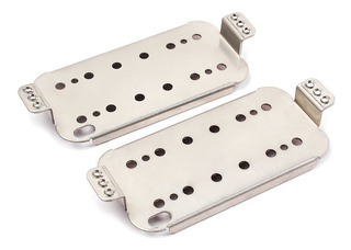 2 Unids Guitarra Eléctrica Humbucker Pickup Base Placa Cupro
