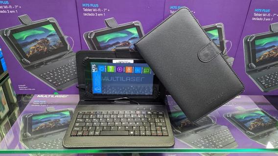 Tablet Multilaser M7s Plus 1gb Ram 8gb + Capa +teclado Nb283