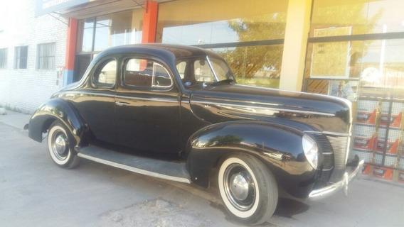 Oportunidad En Venta Ford Coupe 1940