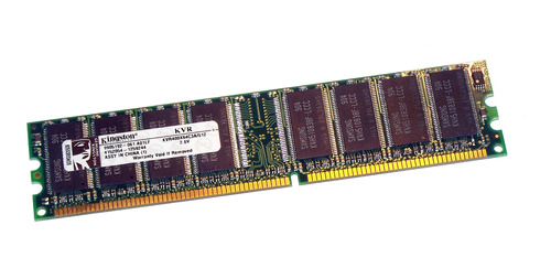 Imagen 1 de 1 de Memoria RAM ValueRAM  512MB 1x512MB Kingston KVR400X64C3A/512