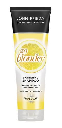 Shampoo Sheer Blonde Go Blonder Lightening John Frieda 250 M