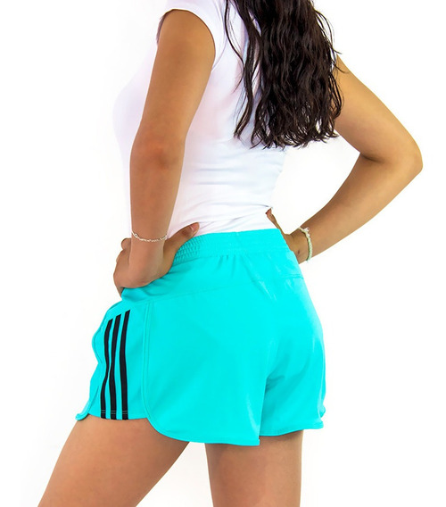 Short Deportivo Mujer Gym Sport Playa Licra Corto Dama 11 /l