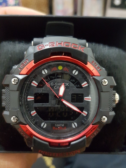 Relógio Gshock Modelo Redbull.