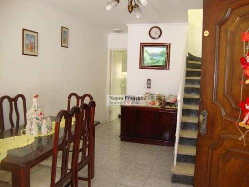 Imirim - Zn/sp - Sobrado 3 Dormitórios, 1 Suite - R$ 695.000,00 - So0369