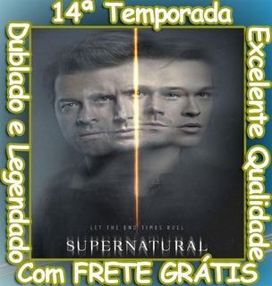 Serie Sobrenatural (14ª Temporada Completa ) Frete Grátis