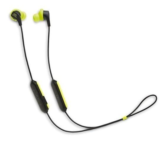 Fone De Ouvido Jbl Endurance Run Bt Bluetooth Com Microfone Esportivo Amarelo Neon