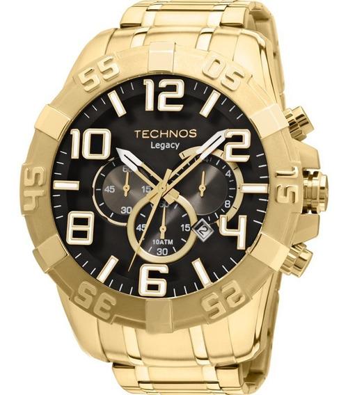 Relógio Technos Masculino Classic Legacy Os20im/4p Dourado N