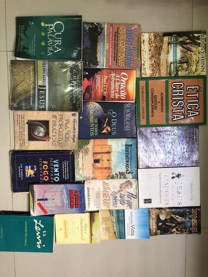 Kit 18 Livros Cristãos, Novos E Usados