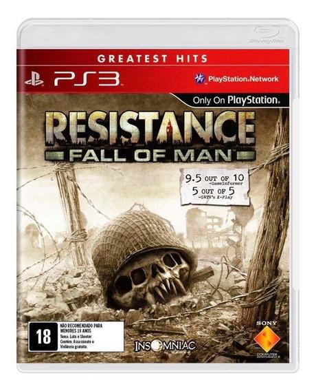 Resistance Fall Of Man Ps3 Mídia Física Novo Lacrado