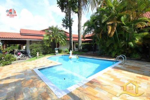 Imagem 1 de 25 de Casa Com 6 Dormitórios À Venda, 380 M² Por R$ 1.500.000,00 - Bougainvillee Iii - Peruíbe/sp - Ca5115