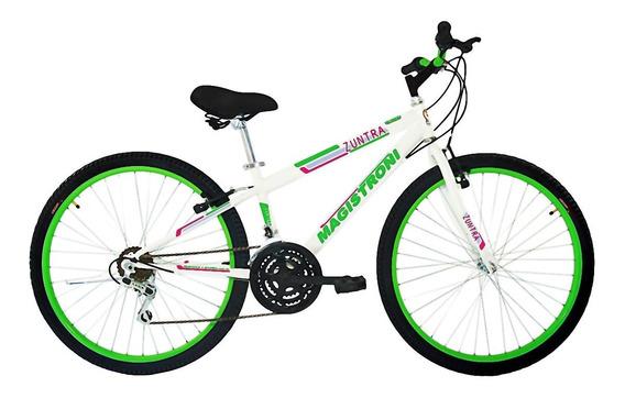 Bicicleta Magistroni Mtb 26, 21 Vel. Mod. Zuntra