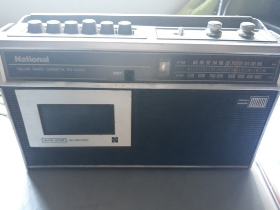 Radio Am E Fm National Cassete Rg-445s