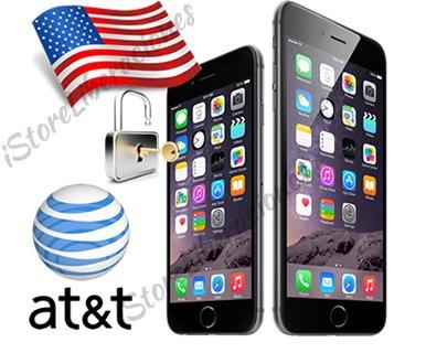 Desbloqueo servicio para at/&t EEUU del contrato iPhone 4 4s 5 5c 5s 6 6+