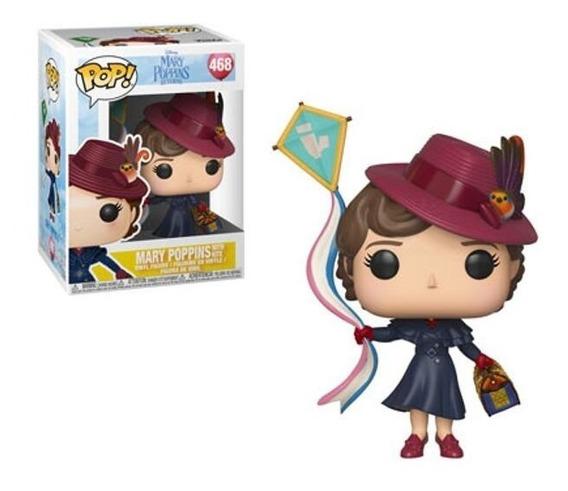 Funko Pop Mary Poppins Returns: Mary Com Pipa #468
