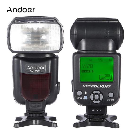 Andoer Ad-960ii Gn54 De On-camera Flash Speedlite Universal