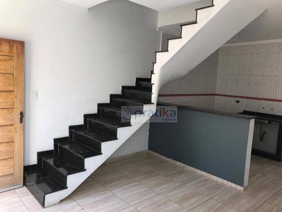 Sobrado Com 3 Dormitórios À Venda, 65 M² Por R$ 319.000 - Vila Bela - São Paulo/sp - So0632