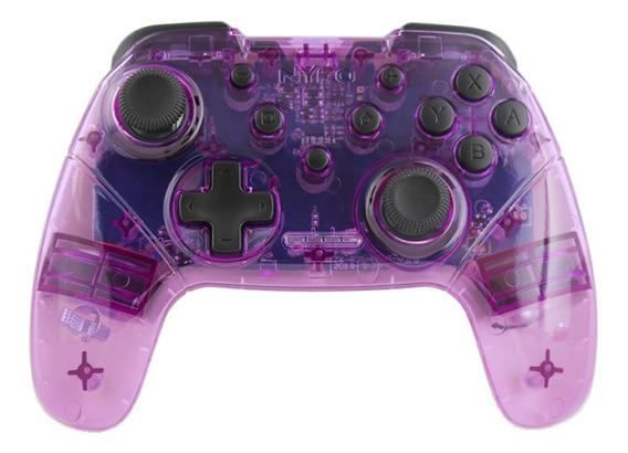 Control joystick Nyko Wireless Core Switch púrpura/blanco