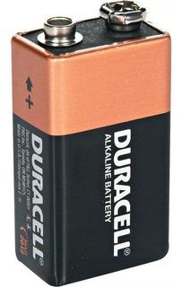 Bateria 9v Pilha Duracell Alcalina Original + Nfe