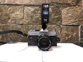 Câmera Canon Filme Ftb Com Lente 50mm