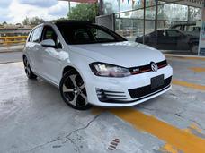 Volkswagen Golf Gti 2.0 Dsg Navegación Piel Quemacocos 2016