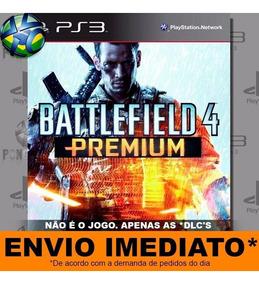 5 Dlcs Ps3 Battlefield 4 Premium Psn Play 3 Mídia Digital Br