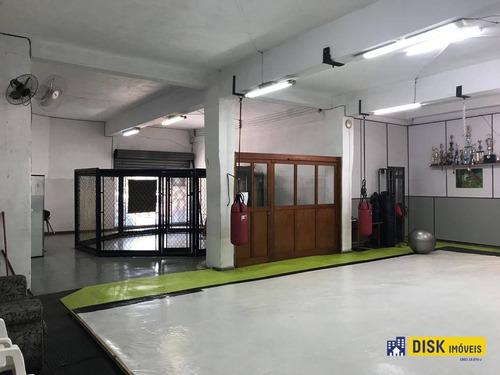 Salão Para Alugar, 100 M² Por R$ 4.300,00/mês - Vila Gonçalves - São Bernardo Do Campo/sp - Sl0010