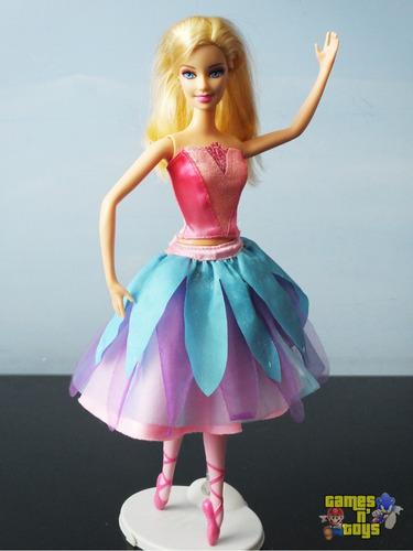 2d68ac2715 Boneca Barbie E As Sapatilhas Mágicas Barbie Bailarina - Bonecas no ...