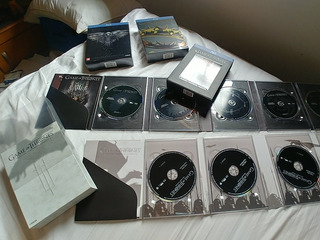 Game Of Thrones Blu-ray 1ª A 4ª Temporadas Digipak 20 Discos