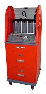 Laboratorio De 6 Inyectores C/ Gabinete Launch Cnc-601a