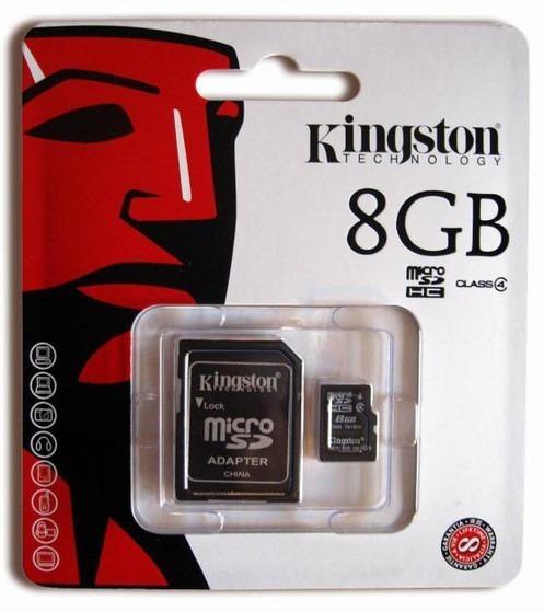 Cartão De Memória Kingston 8gb Micro Sd