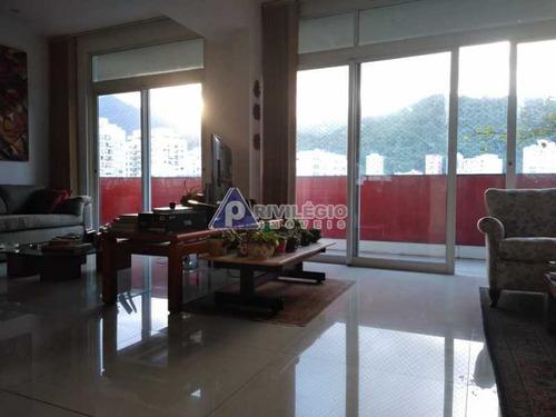 Apartamento À Venda, 3 Quartos, 1 Suíte, 1 Vaga, Leblon - Rio De Janeiro/rj - 4194