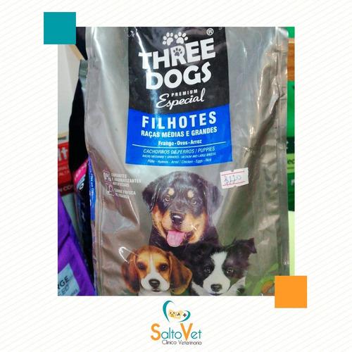 Imagen 1 de 1 de Three Dogs- Comida Para Perros