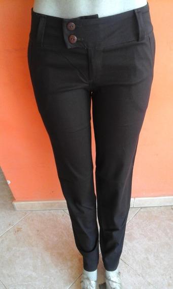 Pantalones De Vestir Dama Strech