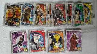 Cards - Wolverine E X-man, Elma Chips Venda Avulsas.